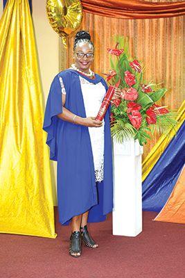 Congratulations to Christina Thomas