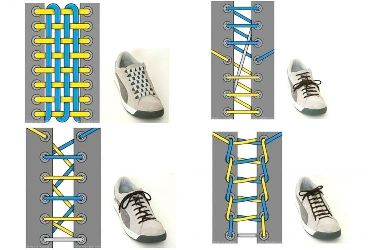 Shoe Lace patterns - Searchlight